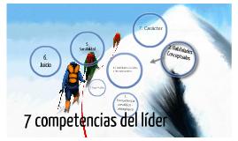 7 competencias del líder