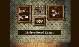 Modern Board Games