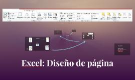 Excel: Diseño de página