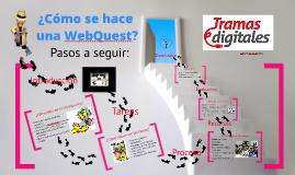 Copy of ¿Cómo se hace una WebQuest?