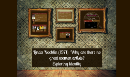 linda nochlin great women artists essay