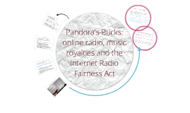 Copy of Pandora's Bucks: online radio, music royalties and the Internet Radio Fairness Act