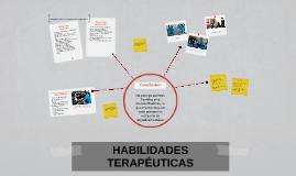 Copy of HABILIDADES TERAPÉUTICAS