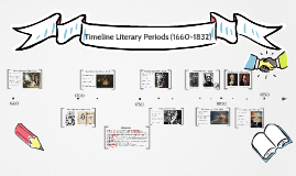 Timeline Literary Periods (1660-1832)