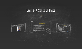 Unit 2: A Sense of Place