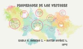 Copy of PROPIEDADES DE LOS VECTORES