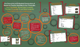 The Discursive and Embodied Construction of Preservice Teach