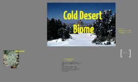 Copy of Cold Desert Biome