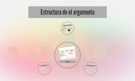 Estructura de los argumentos
