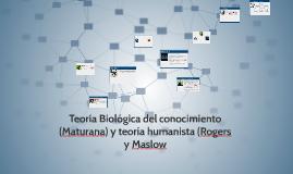 Teoria Biologica del conocimiento y teoria humanista