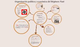 Copy of Organización política y económica del Régimen Nazi