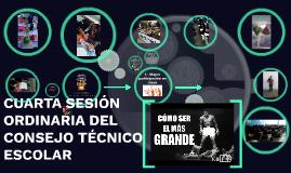 TERCERA SECCIÓN ORDINARIA DEL CONSEJO TÉCNICO ESCOLAR