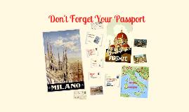 Italy Program 2015 - Presentation