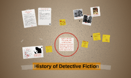 History of Detective Fiction