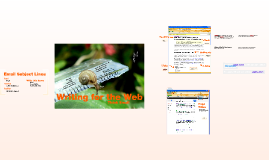 SC 3353 01.2 Writing for the Web