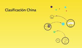 Clasificación China