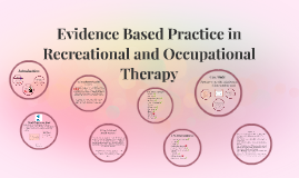 Evidence Based Practice in Recreational and Occupational The