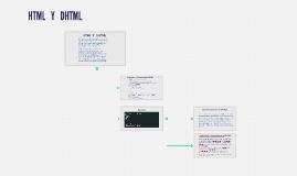 Copy of HTML  Y   DHTML