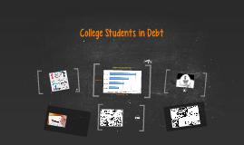 College Students in Debt