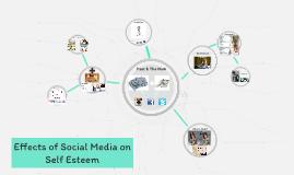 Effects of Social Media on Self Esteem
