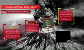 Erupción del Monte Santa Helena