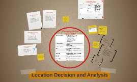 Copy of Need for Location Decision