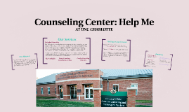 Counseling Center: Help Me
