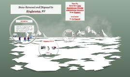 Snow Removal in Binghamton, NY