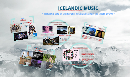 Copy of icelandic music scene