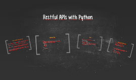 Restful APIs with Python