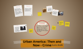 Crime then and now