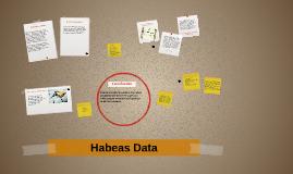 ¿Que es el Habeas Data