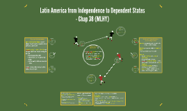 Latin America from Independence to Dependent States - Chap 3