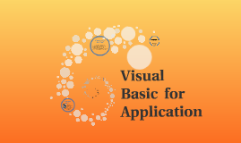 Visual  Basic for Applicatin