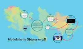 Modelado de Objetos en 3D