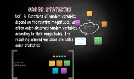 order statistic