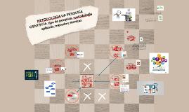 MÉTODO DE PESQUISA CIENTÍFICA