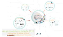 Appel à projets multimedia 2016 de la ville de Brest