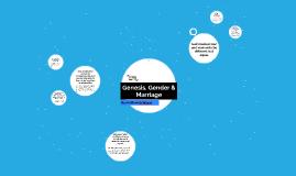 Genesis, Gender & Marriage