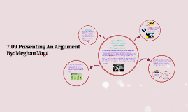 7.09 Presenting An Argument