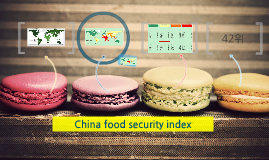 China food security index