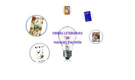 Manuel Pachón Obras Literarias