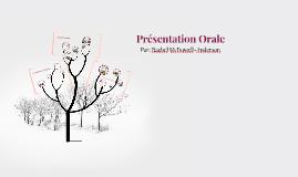 Présentation Orale