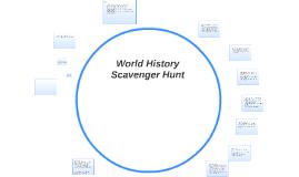 World History Scavenger Hunt