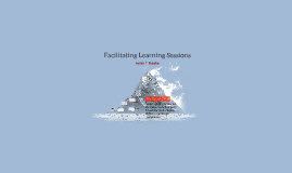 Facilitating Learning Sessions
