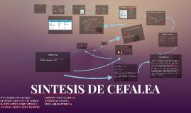 SINTESIS DE CEFALEA