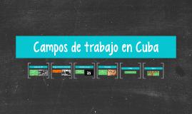 Campos de trabajo en Cuba