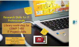 Sept 2017 Research Skills for IT Professionals