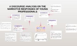 A DISCOURSE ANALYSIS ON THE NARRATIVE RESPONSES OF YOUNG PRO