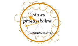 Ustawa przedszkolna (2013)
